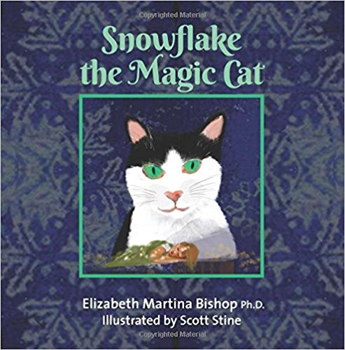 Snowflake the Magic Cat